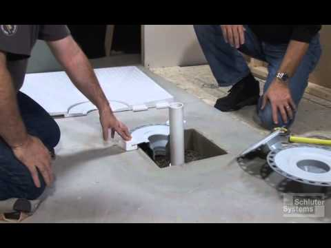 Concrete Box Out Drain Preparation Youtube