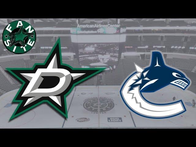 Dallas Stars vs Vancouver Canucks | 25 Mar 2018