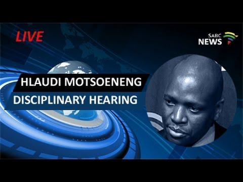 Hlaudi Motsoeneng disciplinary hearing: 18 May 2017