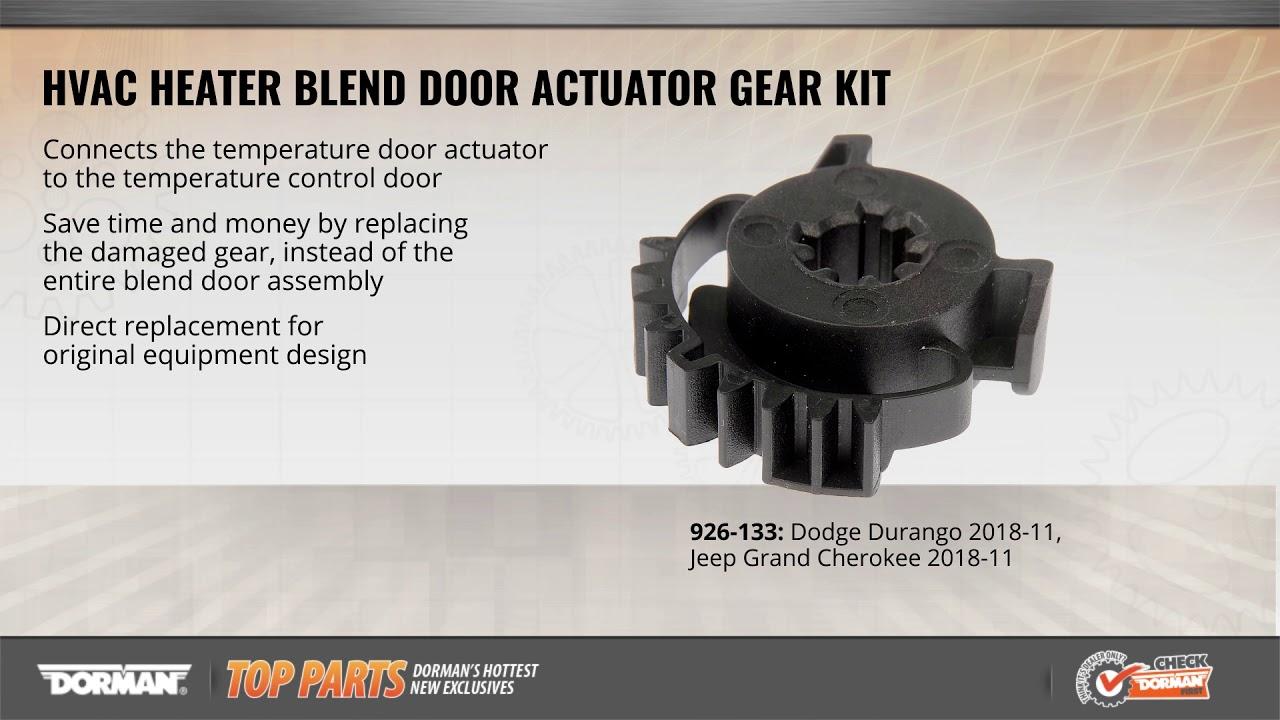 HVAC Blend Door Actuator Gear Kit