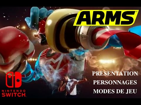 arms switch i presentation personnages modes de jeu i nintendo switch youtube. Black Bedroom Furniture Sets. Home Design Ideas