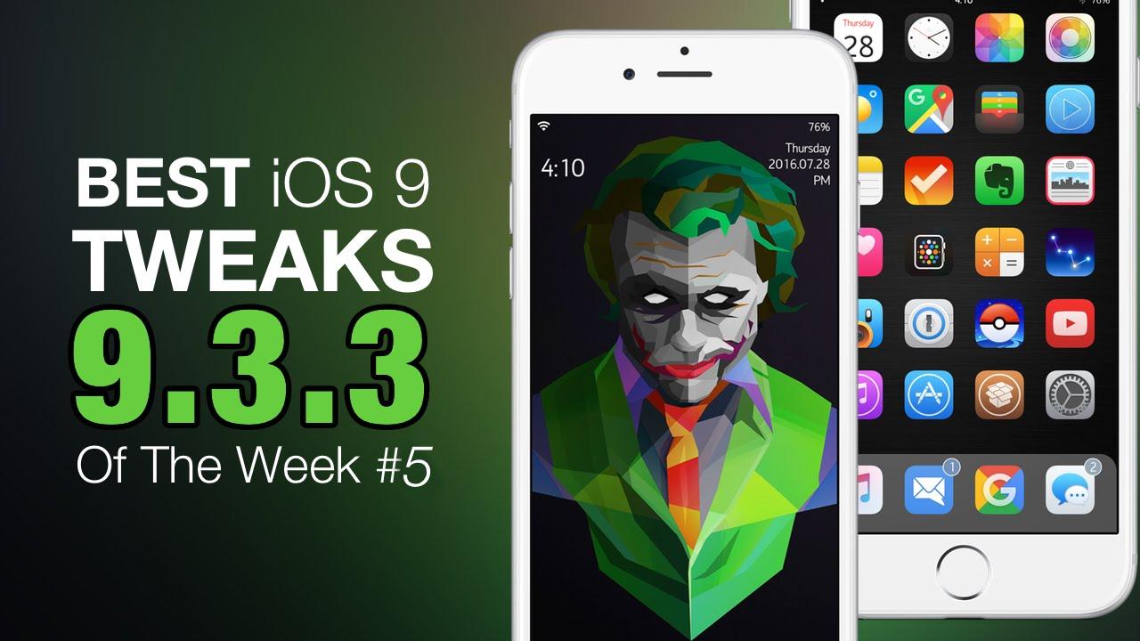 The Best Free Ios 9 3 Tweaks Of Week 5 2016 Iphone Ipod Touch Jailbreak You