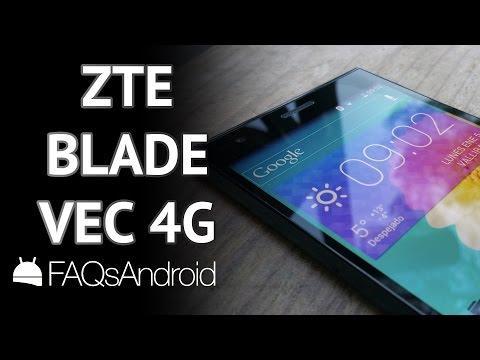 ZTE Blade VEC 4G: análisis en español