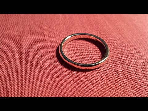 Todays project:  Hand made  14K Gold ring (recycled gold)  Ban7