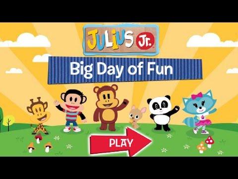 Julius Jr. - Big Day Of Fun - Nick Jr. Full Episode Game