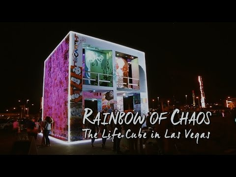 Rainbow Of Chaos - The Life Cube In Las Vegas
