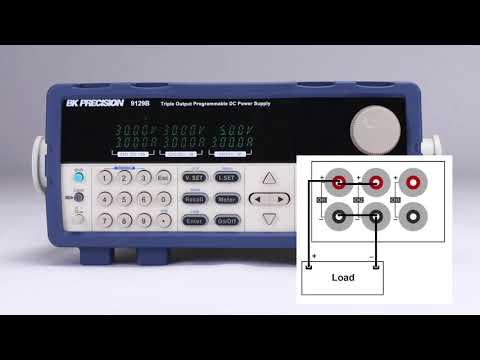 BK Precision- 9129B – Economical Triple Output Programmable DC Power Supplies