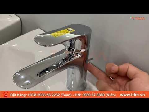 TDM.VN | Review Vòi Chậu Rửa Mặt INAX LFV-1402S Vòi Lavabo Nóng Lạnh Chính Hãng