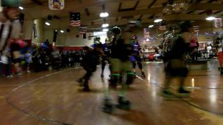 Panama City Roller Derby vs. Tragic City Rollers 1st Jam
