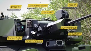 대전차미사일, 능동방어장치, 첨단센서 등을 장착한 만능무인포탑! 엘빗사의 최신형 무인포탑 UT-30