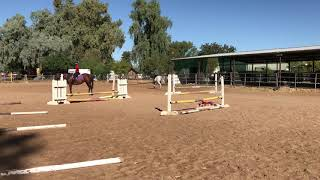 Me and Davidoff learning to jump!