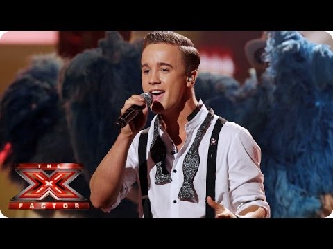 Sam Callahan sings Ain't That A Kick In The Head by Dean Martin - Live Week 5 - The X Factor 2013