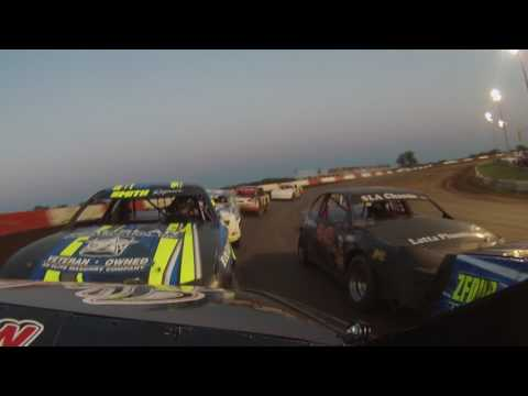 Beatrice Speedway, Stock Car A Feature, 6-30-17, 25B