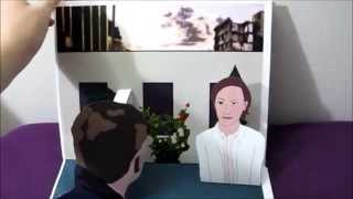 Narrated Croatoan Pop-Up Book by Psynatural (GISHWHES 2014 #152)