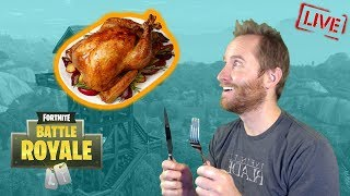 Happy Thanksgiving With FREE Fortnite Battle Royale! 55 wins and counting.