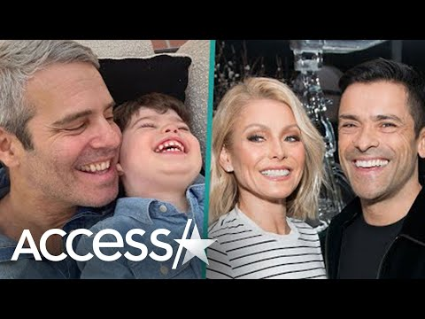Kelly Ripa & Mark Consuelos Have Adorable Playdate With Andy Cohen's Toddler Ben