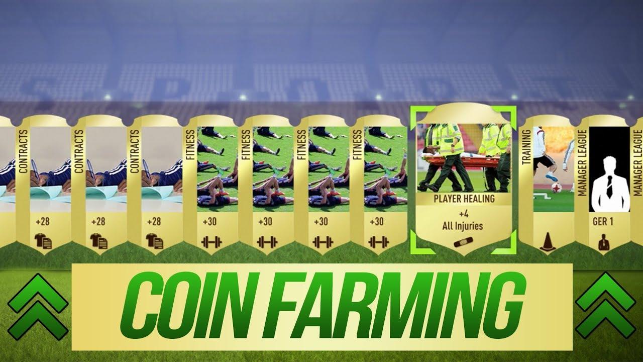 fifa 18 farming coins