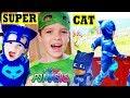 PJ Masks Catboy Super Cat Speed & Gekko 🦎