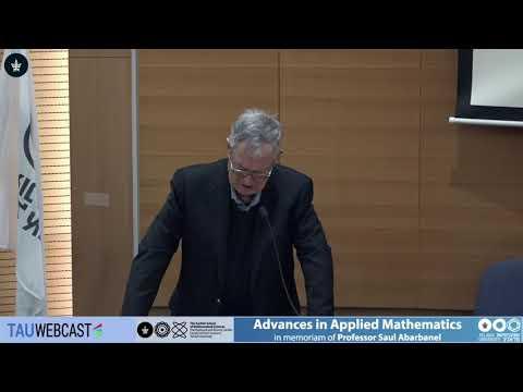 Joshua Jortner, Memorial session for of Professor Saul