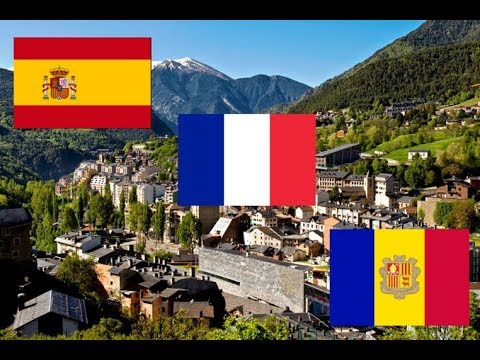 Spain France Andorra | Three Countries in One Day | Drive on a Beautiful Summer Day
