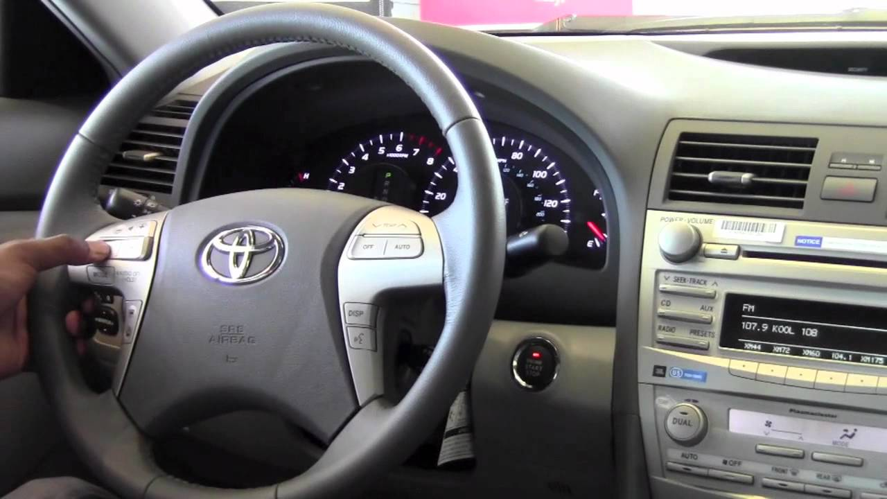 2017 Toyota Camry Steering Wheel Audio Controls How To By City Minneapolis Mn