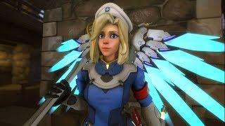 como jogar de Mercy (SQN) - Overwatch
