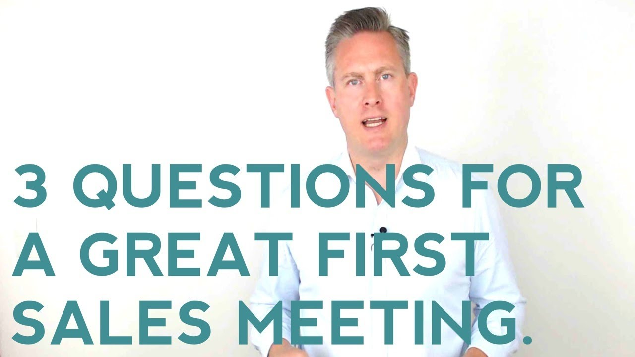 The 3 Most Powerful Sales Questions Ever   YouTube