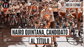 Nairo se metió en el podio de la Vuelta a España - El Espectador