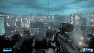 Stealth Sniper Mission - Getting the Secondary Boss - Night Shift - Battlefield 3