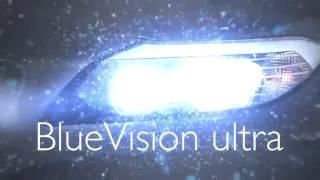 Видео обзор габаритных ламп Philips Blue Vision Ultra