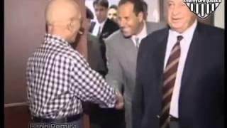 زيارة شارون لـ الملك الحسين بن طلال في مرض موته بـ أمريكا 1999