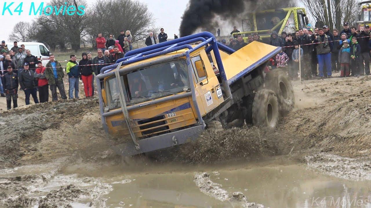 Truck Trial in Milovice, Czechia 2018