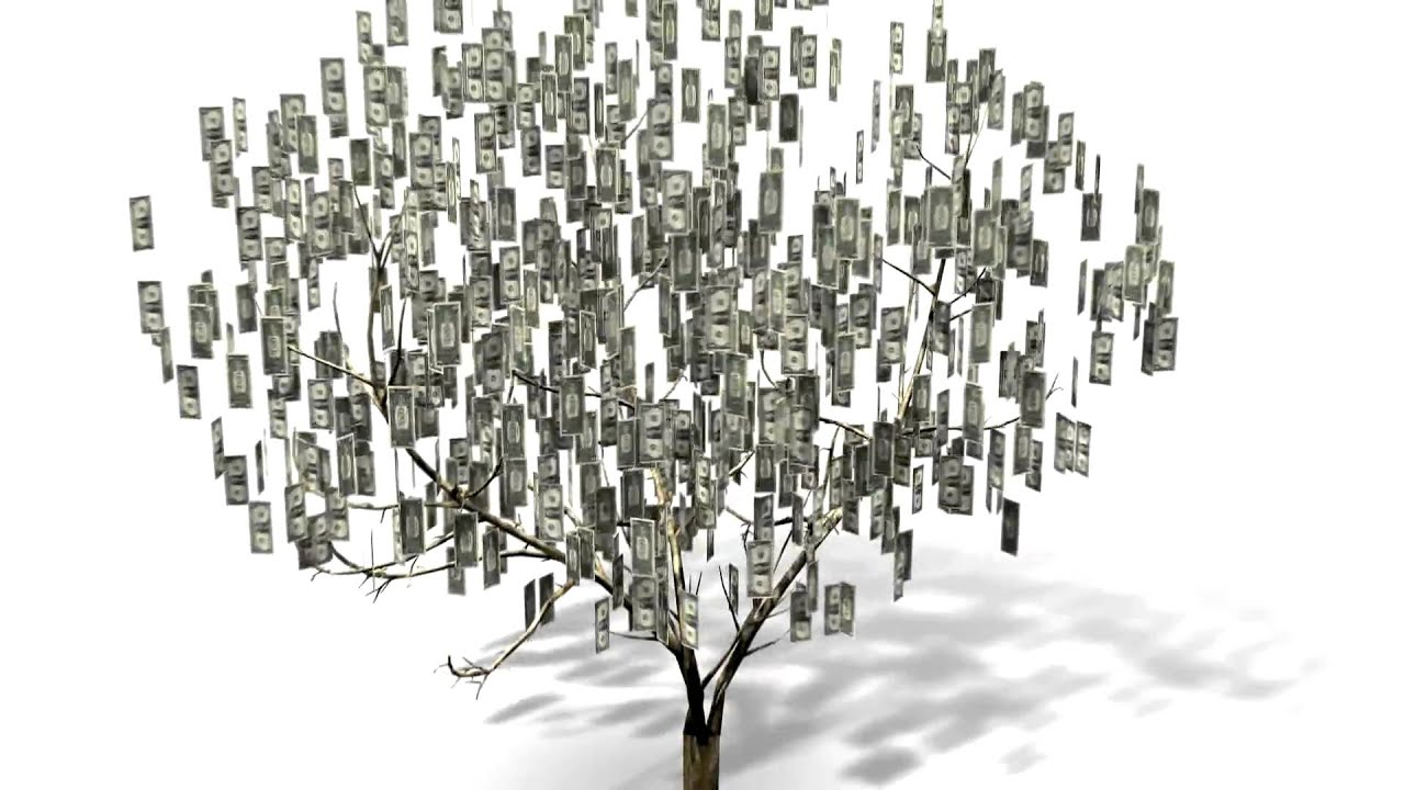 3D Money Tree - YouTube