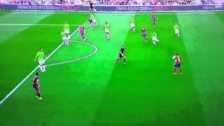 Andres Iniesta Goal Barcellona vs Osasuna 3 0