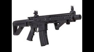 Обзор винтовки Crosman DPMS SBR или просто пневматическая М4