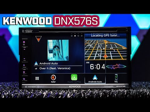Kenwood DNX576S - Android Auto and Apple Carplay Updates - New Image Slideshow