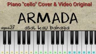 Armada  - Asal kau bahagia ( perfect piano ) beserta original video clip