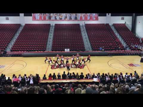 UNLV Rebel Girls | 2017 Pom Send-Off Performance