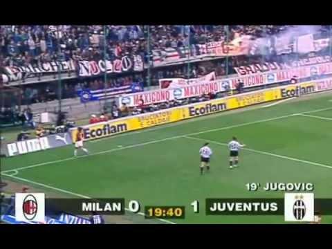 Milan - Juventus 1-6 (06.04.1997) 9a Ritorno Serie A (Ampia Sintesi Primo Tempo).