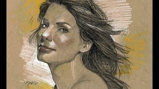 Sandra Bullock Sketch in 2 minutes