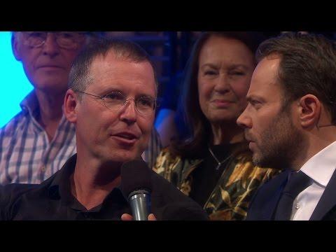 Anders Borg på plats för att stötta Dominika - Let's Dance (TV4)