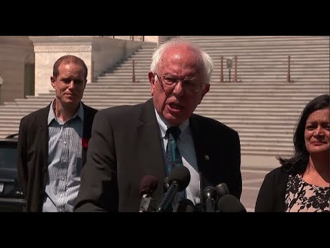 Watch live: Bernie Sanders unveils plan to eliminate $1.6 trillion in student loan debt