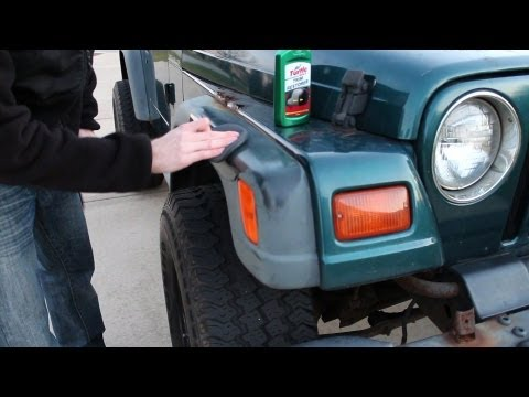 Turtle Wax Trim Restorer Review How To Install Before After Shots Youtube