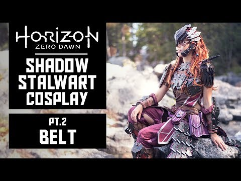 Belt and Armor Plates - HZD Shadow Stalwart Cosplay - Pt2