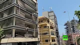 لبنان يواصل رفع أنقاض مرفأ بيروت بعد الانفجار الضخم بحثا عن مفقودين