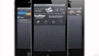 iOS 5 Concept Notification Center thumbnail