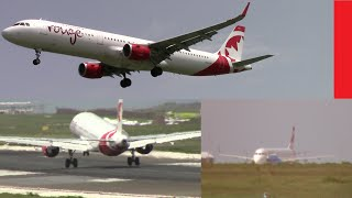 Air Canada Rouge Inflight Incident - Emergency Arrival - With Air Traffic Control