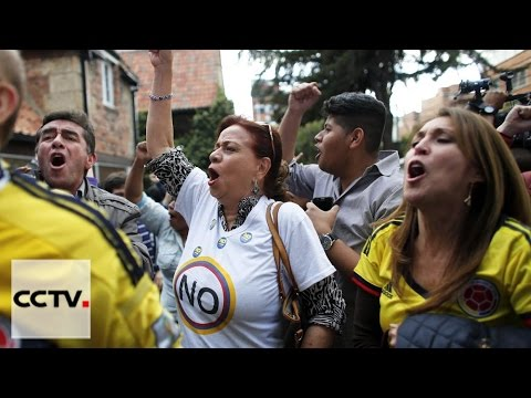 Colombian people vote No to peace deal with FARC