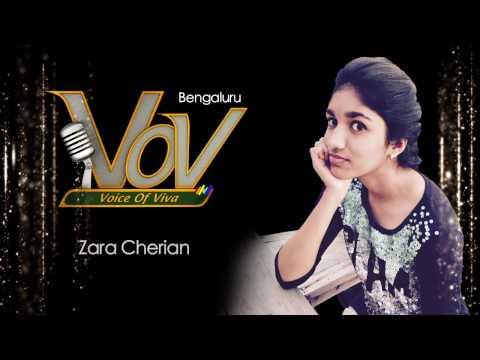 Zara Cherian - Viva 8 Voice of Viva finalist from Bengaluru