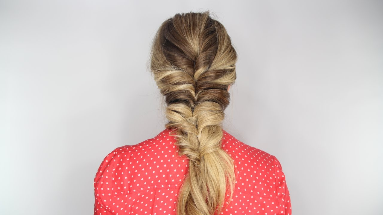 The Stacked Topsy Tail Braid Tutorial Youtube